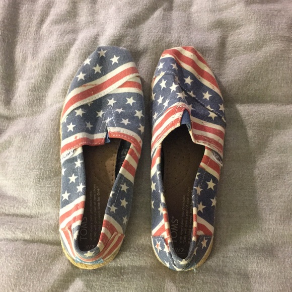 Toms Shoes - American Flag TOMS